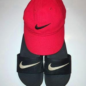 Nike hat and flats